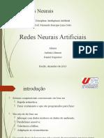 Apresentação - Redes Neurais Artificiais
