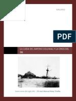 6.Guerracolonialycrisisde1898.Apuntes2012