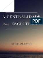 A Centralidade das Escrituras_ - William Cristiam Rosa do Nascim