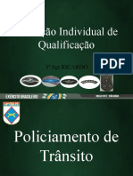 Policiamento de Transito Q-110 e 111