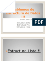 Hablemos de Estructura de Datos !!!