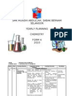 Yearly Plan Chemistry Form 4