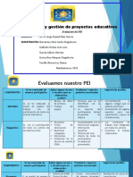 Evaluación del PEI Grupo 3