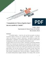 CeciliaMariz (2006) - Comunidades de Vida no Espírito Santo Um novo modelo de família
