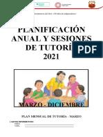 Plan de Tutoria 2021 1