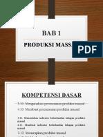 Produksi Massal