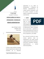 Analisis Juridico Ley Para La Optimizacion y Eficiencia de Tramites Administrativos