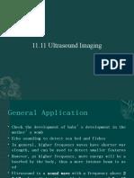 11.11 Ultrasound Imaging
