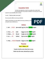 7. Causative Verb