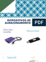 Dispositivos de almacenamiento (2)