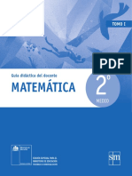 Matematicas 2º - Tomo I -Guia Docente