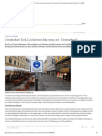 Deutscher Teil-Lockdown bis zum 20. Dezember_ _ Aktuell Deutschland _ DW _ 21.11.2020