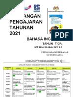 Rpt English Year 3 (Penjajaran) 2021