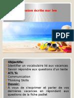 Les Vacances CE Updated