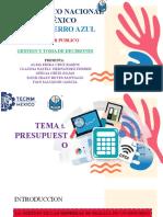 Tema 1. Presupuesto (1)