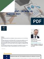 Le Debrief de La Loi de Finances 2021 Ghassen AMMAR