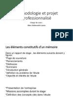 Méthodologie Et Projet Professionnalisé Converti 2