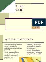 TÉCNICA DEL PORTAFOLIO