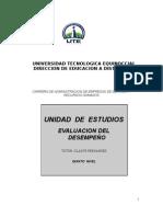Módulo Evaluación del Desempeño Gladys Fernandez