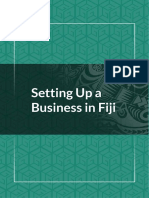 GGGI Guide to Green Entrepreneurship in Fiji Chapter 6 Setting Up a Business in Fiji 1