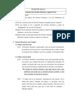 Plano de Aula 2, Aspectos Introdutórios dos Direitos Humanos, Parte 2