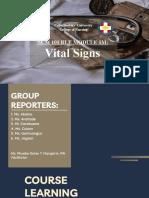 Ncm 101 Vital Signs Ppt Bsn 1a Group 1