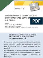Apresentação METASA - Comparativo metodo numerico com NBR