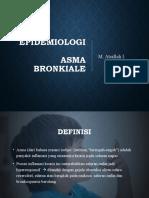Epidemiologi Asma Bronkiale Pdd Banyuwangi