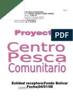 Proyecto Productivo de Pesca