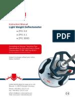 User Manual ZORN Lightweight Deflectometer ZFG 3.0/3.1/3000