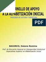 Cuadernillo de Apoyo a La Alfabetización Inicial (1)