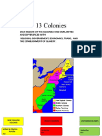 13 colonies Ppt