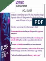 Flash - Novedad pagos no aplicados