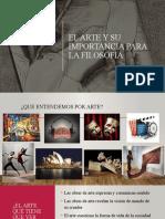 El arte y su importancia para la filosofía