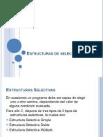 ESTRUCTURAS DE PROGRAMACIÓN SELECCION MÚLTIPLE ANIDADA