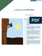 INVERTO Paper - Striving for Superior Profitability