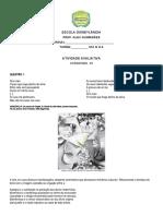 ATIVIDADE AVALIATIVA DE LITERATURA 01 DISNEY