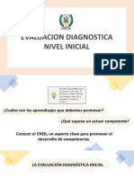 Evaluacion Diagnostica EI