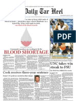 The Daily Tar Heel for March 2, 2011