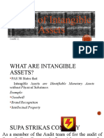Audit of Intangible Assets Report