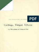 Carthage, Timgad, Tébessa et les villes antiques de l'Afrique du Nord (1909)