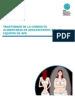 Material de Estudio Trastornos de la Conducta Alimentaria.
