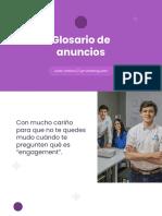 Glosario de Anuncios - Clientes Ilimitados v1.0