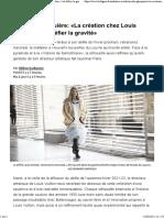 Nicolas Ghesquière_ «La création chez Louis Vuitton, c'est défier la gravité»