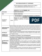 FORMATO PLANEACION PEDAGOGICA 15-19 FEBRERO