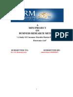 BRM mini project