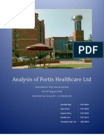 36402363-Analysis-of-Fortis-Healthcare