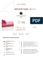 Opéra fruits rouges _ Guy Demarle