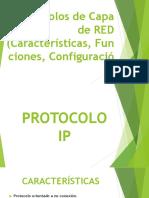 6 PROTÓCOLOS DE CAPA DE RED CARACTERSTICAS