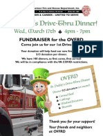 OVFRD StPaddy Fundraiser